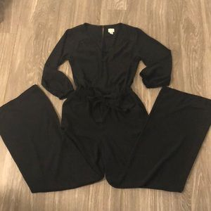 🎉 A New Day Target Black Long Sleeve Jumpsuit